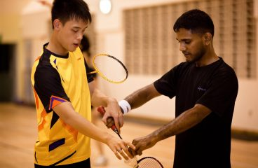 Here are some badminton class concepts
