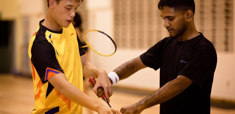 badminton classes singapore